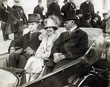 President Calvin Coolidge & Mrs. Coolidge Photo Print for Sale