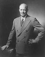 President Dwight Eisenhower Portrait Photo Print for Sale
