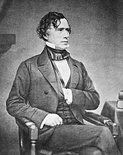President Franklin Pierce Seated Photo Print for Sale