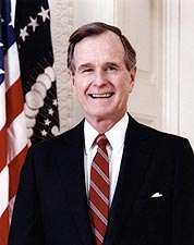 President George Bush Official Portrait Photo Print for Sale