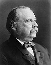 President Grover Cleveland Portrait Photo Print for Sale