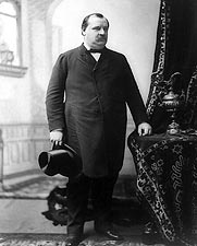 President Grover Cleveland Standing Photo Print for Sale