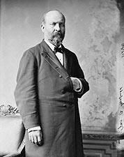 President James Garfield Portrait Photo Print for Sale