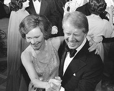 President Jimmy Carter & First Lady White House Photo Print