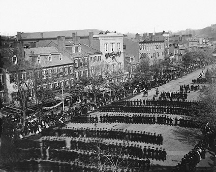 President Lincoln Funeral Procession 1865 Photo Print