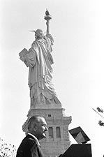 President Lyndon Johnson Statue of Liberty Photo Print for Sale