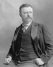 President Theodore Roosevelt Early Portrait Photo Print for Sale