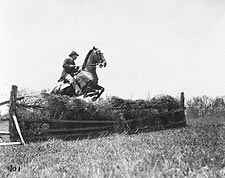 President Theodore Roosevelt Jumping Fences Photo Print for Sale