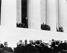 President Warren Harding, Lincoln Memorial Photo Print for Sale