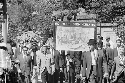 Racial Equality March Civil Rights Wash. DC Photo Print