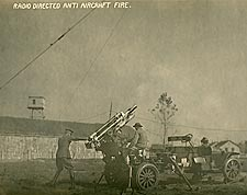 Radio Directed Anti Aircraft Fire WWI Photo Print for Sale
