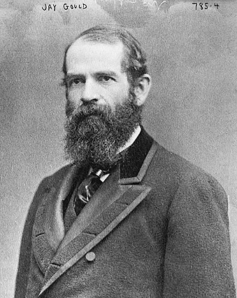 Railroad Financier Jay Gould Portrait Photo Print