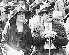 Rep. Nicholas Longworth and Alice Roosevelt Longworth Photo Print for Sale
