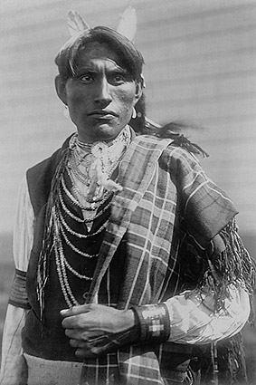 Reuben Black Boy Edward S Curtis Portrait Photo Print