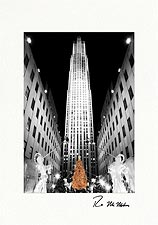 Rockefeller Center Personalized Christmas Cards