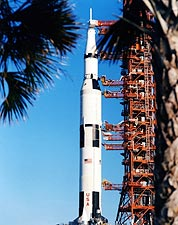 Rollout of Apollo 13 Saturn V Rocket 1969 Photo Print for Sale