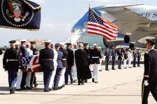 Ronald Reagan Funeral Honor Guard & VC-25 Photo Print for Sale