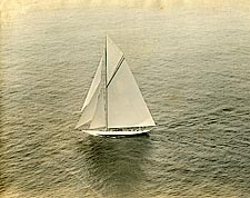 Sailboat on San Francisco Bay 1925 Photo Print for Sale