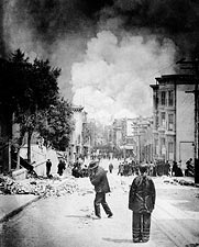 San Francisco Earthquake and Fire 1906  Photo Print for Sale
