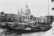 Santa Maria della Salute Church Italy 1905 Photo Print for Sale