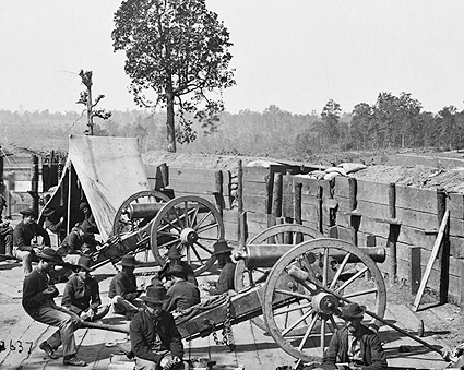 Sherman & Confederate Fort Civil War 1864 Photo Print