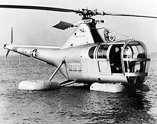 Sikorsky H-5 Dragonfly Helicopter w/ Floats Photo Print for Sale