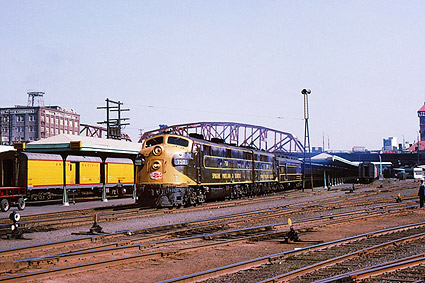 Spokane, Portland & Seattle F-7A Railroad Photo Print