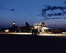 SR-71 Blackbird Aircraft at Dawn NASA Photo Print