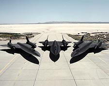 SR-71 Blackbird Trio Photo Print for Sale