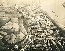 St. Goar in Germany Aerial View WWI Photo Print for Sale