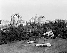 St. John's Cathedral, Harlem New York 1913 Photo Print for Sale