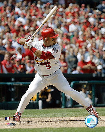 St. Louis Cardinals Baseball Albert Pujols Photo Print