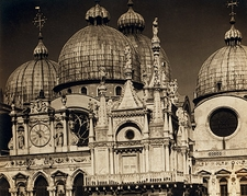 St Marks Basilica Church Venice Italy 1905 Photo Print