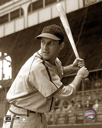 Stan Musial St. Louis Cardinals in Batting Stance Baseball Photo Print