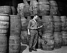 Stanley Hyams of Washington Pickle Works Photo Print for Sale