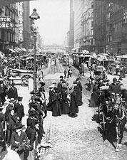 State Street in Chicago 1903 Photo Print for Sale