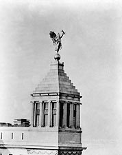 Statue atop of Telegraph Building NYC 1917 Photo Print for Sale