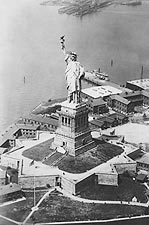 Statue of Liberty, New York Harbor 1924 NYC Photo Print for Sale