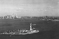 Statue of Liberty New York Harbor 1930s Photo Print for Sale