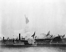 Statue of Liberty NYC Inauguration 1886 Photo Print for Sale