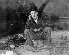 """Still Photo of Charlie Chaplin in 'The Circus"""" Photo Print for Sale"""