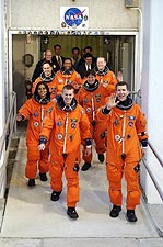 STS-107 Space Shuttle Columbia Crew NASA Photo Print for Sale