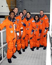 NASA STS-107 Space Shuttle Columbia Crew Photo Print for Sale