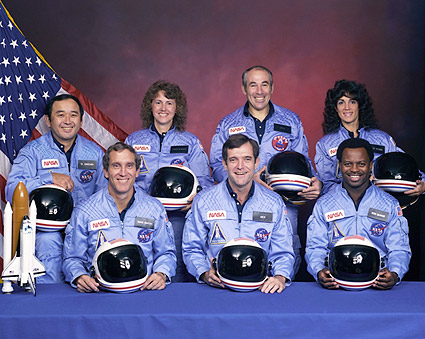 STS 51-L Space Shuttle Challenger Crew Photo Print