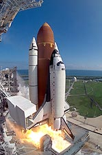 STS-58 Space Shuttle Columbia Launch Photo Print for Sale