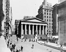 Subtreasury Building Wall St, New York City Photo Print for Sale