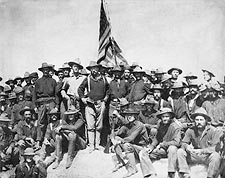 Teddy Roosevelt and the Rough Riders 1898 Photo Print for Sale