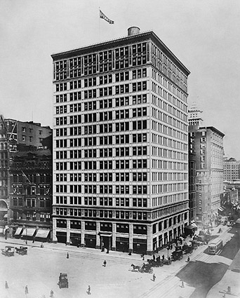 The Everett Building, New York City 1909 Photo Print