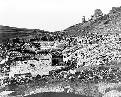 Theatre of Dionysus Acropolis Hill Athens Photo Print