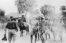 Theodore Roosevelt & Kermit in Africa Photo Print for Sale